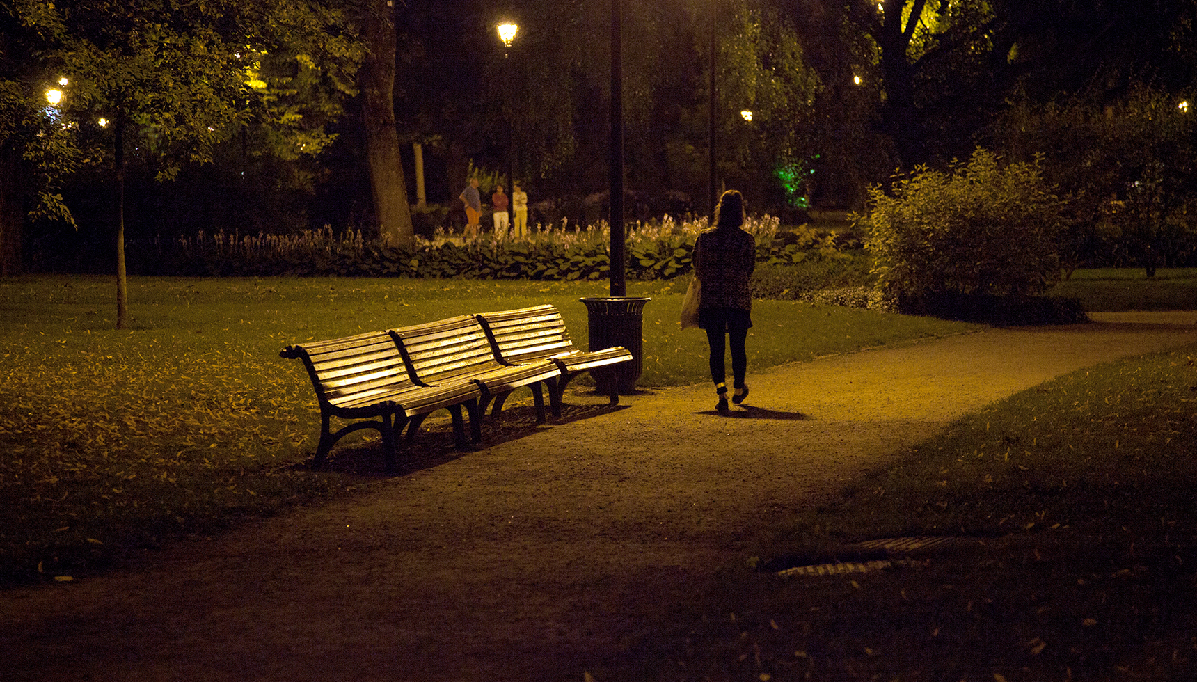 The Strange Half-Absence of Wandering at Night